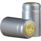 30 x 55mm Silver Glossy PVC Capsules w/Tear Tab, 500/pk