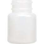 1 oz. 30cc Natural Widemouth Round HDPE Bottle, 28mm 28-400