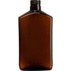 9 oz. Amber PET Plastic Drug Oblong Bottle, 24mm 24-410, 28.7 grams, 240/cs