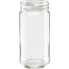6 oz. Paragon Glass Jar, 53mm 53-400