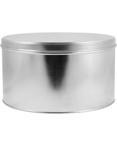10 lb. (138 oz.) Flat Slip Cover Can and Lid