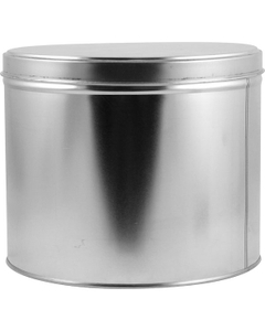 10 lb. (141 oz.) Deep Slip Cover Can and Lid