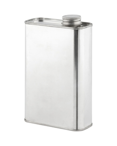 """1 Pint (16 oz.) F-Style Can with 1"""" Delta Opening, Side"""