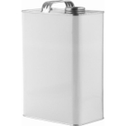 """1 Gallon White F-Style Can with 1-3/4"""" Delta Opening"""
