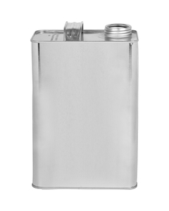 """1 Gallon F-style Can w/1-3/4"""" Delta Opening, UN Rated"""
