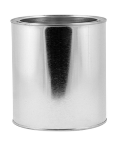1/2 Gallon Metal Paint Can, Unlined