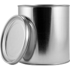 1/2 Gallon Metal Paint Can with Lid, Unlined