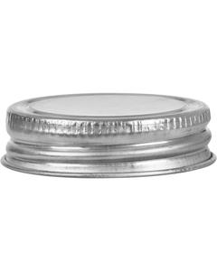 """1-3/4"""" Delta Metal Cap with Pulp & Foil Liner"""