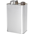 """1/2 Gallon (64 oz.) F-Style Can with 1-1/4"""" Alpha Opening"""