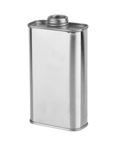 """1/2 Pint (8 oz.) F-Style Can with 1"""" Delta Center Pour Nozzle"""