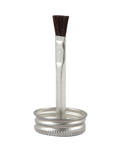 """1-1/4"""" Delta Brush Cap with 2-3/4"""" Stem for Use In 4 oz. Utility Can"""