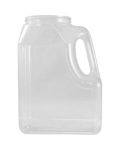 160 oz. Clear PETG Plastic Premier Oblong Jar with Handle, 110mm 110-400