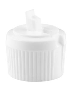 28mm 28-410 White Turret Cap