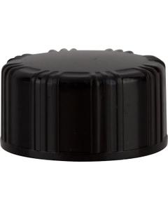 18mm 18-400 Black Phenolic Cap with PV Liner
