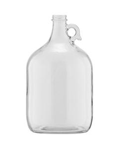 1 Gallon (128 oz.) Clear Glass Jug, 38mm 38-405