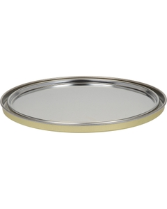 1 Gallon Metal Paint Can Lid, Gold Phenolic Lined