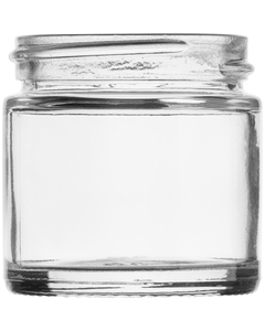 1 oz. Straight Sided Glass Jar, 43mm 43-405