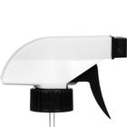 """White/Black Trigger Sprayer, 9-7/8"""" Dip Tube, 28mm 28-400"""