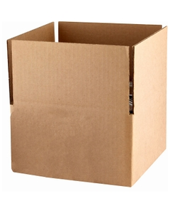 "9"" X 9"" X 5"" 4x1 Carton for Quart Tin Cans"
