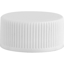 20mm 20-400 White Cap with Heat Induction Liner for PET