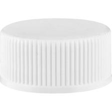 20mm 20-400 White Unlined Industry Standard Plastic Cap