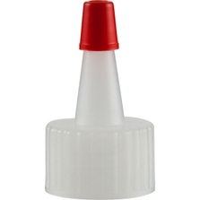 20mm 20-410 Natural Spout Cap with Red Sealer Tip