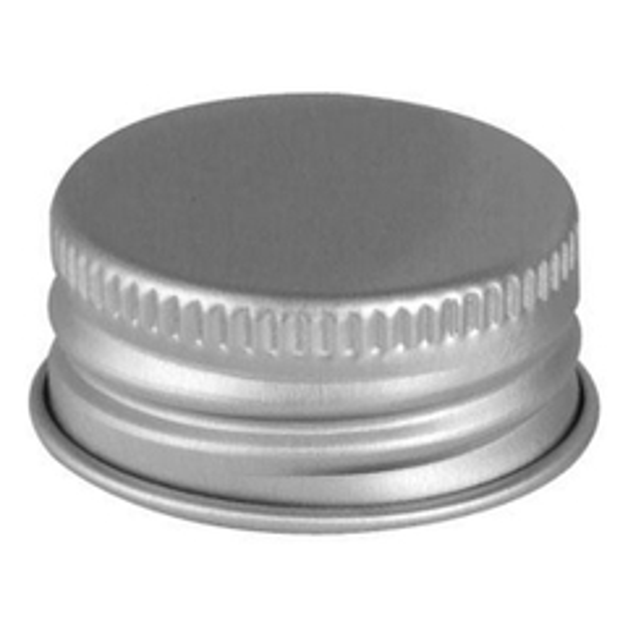 20mm 20-400 Aluminum Metal Cap with Pulp & Poly Liner