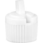 20mm 20-410 White Plastic Turret Cap, 3.4mm Orifice