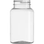 7.5 oz. (225 cc) Clear PET Plastic Packer Bottle, 45mm 45-400