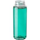 8 oz. Clear PET Plastic Freeport Cylinder Bottle, 38mm 38-400