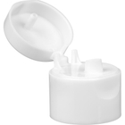 24mm 24-410 White Snap Top Cap, Unlined