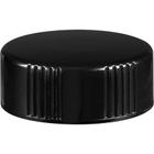 28mm 28-400 Black Phenolic Cap w/Poly Cone Insert (Taperseal)