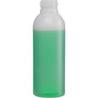 2 oz. Natural HDPE Plastic Bullet Bottle, 20mm 20-410, 9 Grams