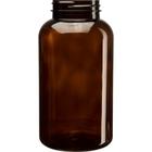 21 oz. (625 cc) Amber PET Plastic Packer Bottle, 53mm 53-400