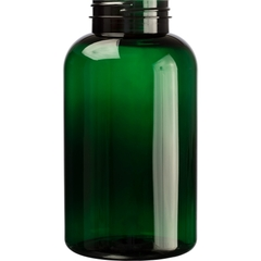 25 oz. (750 cc) Dark Green PET Plastic Packer Bottle, 53mm 53-400