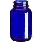 4 oz. (120 cc) Cobalt Blue Glass Packer Bottle, 38mm 38-400