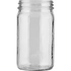 8 oz. Clear Glass Mayo Jar