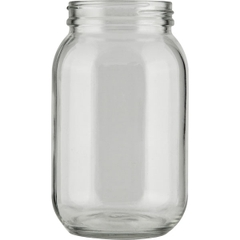 16 oz. Glass Economy Jar, 63mm 63-405