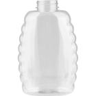21 oz. (2 lb.) PET Plastic Oval Queen Honey Bottle, 38mm 38-400