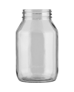 32 oz. Clear Glass Mayo Jar, 70mm 70-450
