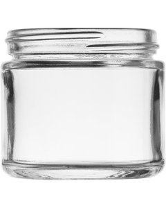 2 oz. Straight Sided Glass Jar, 53mm 53-400