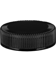 38mm 38-400 Black Phenolic Cap w/Taperseal Cone Liner