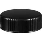 33mm 33-400 Black Phenolic Cap w/Poly Cone Insert (Taperseal)
