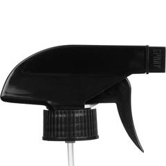 "Black Trigger Sprayer, 9-1/4"" Dip Tube, 28mm 28-400"