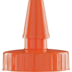 38mm Hi Flow Orange Spout Cap w/Pressure Sensitive Liner