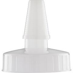 38mm Hi Flow Natural Spout Cap w/Pressure Sensitive Liner