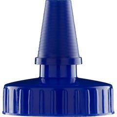 38mm Hi Flow Blue Spout Cap w/Pressure Sensitive Liner