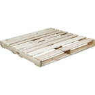"""48"""" x 48"""" Recycled Wood Pallet, 2-Way Fork Access, 3,000 lb. Capacity"""
