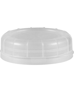 48mm Clear Plastic Tamper Evident Snap On Cap