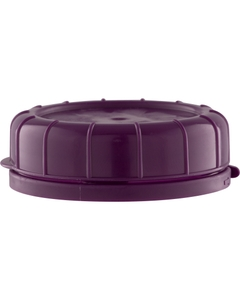 48mm Purple Plastic Tamper Evident Snap On Cap